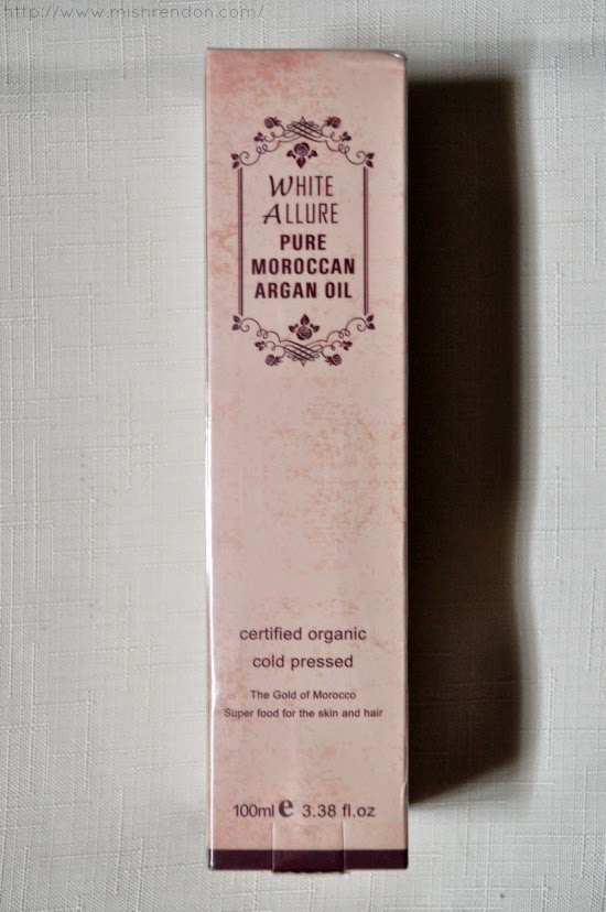 White Allure Pure Moroccan Argan Oil Magic Potions