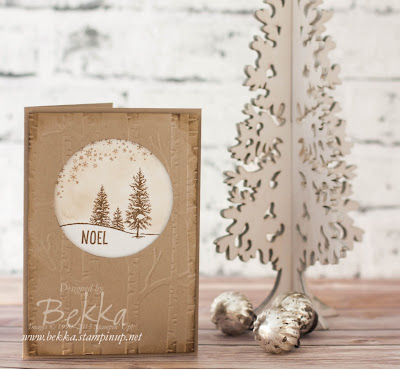 Fast and Fabulous Happy Scenes Woodland Fast and Fabulous Christmas Card - check it out here