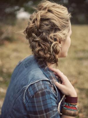 Peinados 2014 trenzas look