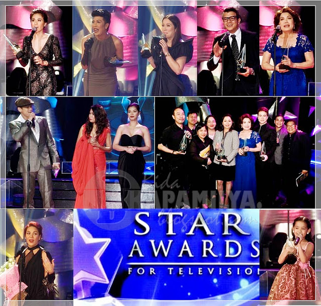 Kapamilya winners at the 26th PMPC Star Awards for TV 2012