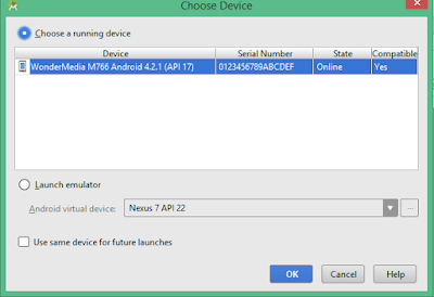 Depuración del Proyecto desde Android Studio usando el Dispositivo Físico