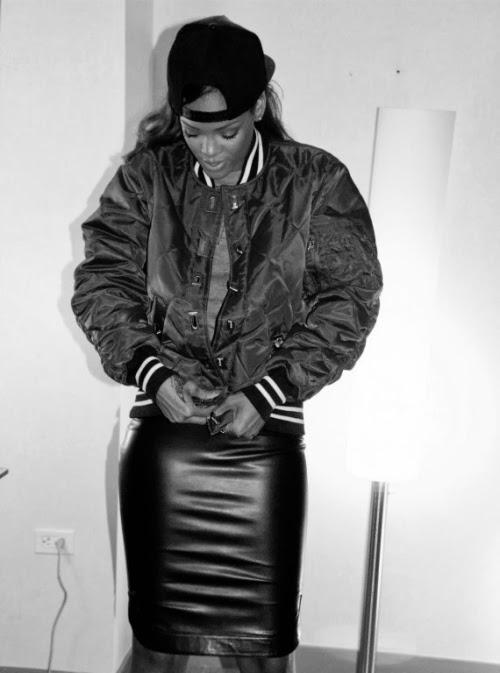Rihanna bomber jacket