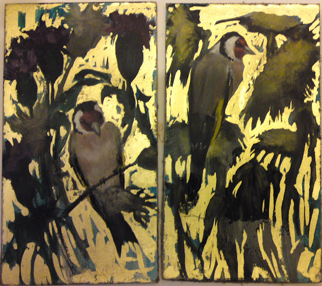 Goldfinch Diptych