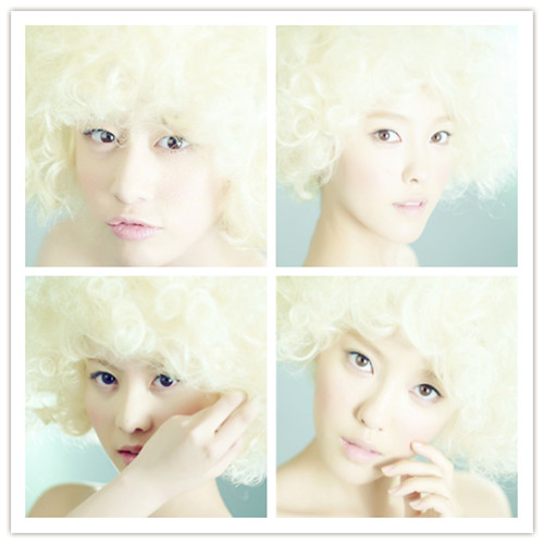 Jiyeon-Hyomin-Qri T-ARA Doll Blonde Style