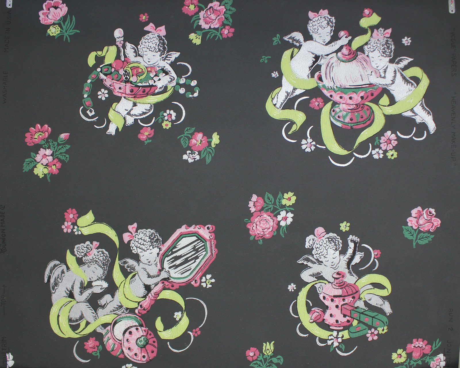 Rosie s Vintage Wallpaper 2012