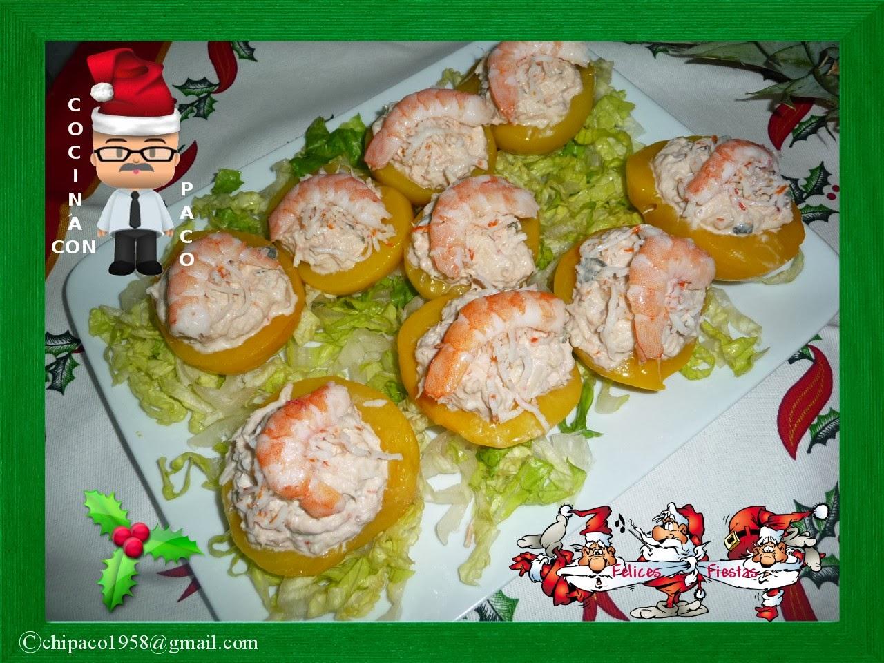 Cocina con paco melocotones en alm bar rellenos - Cocina con paco ...