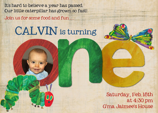 Very Hungry Caterpillar Party,  Very Hungry Caterpillar Party invitation ideas