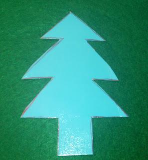 Patrón árbol de navidad