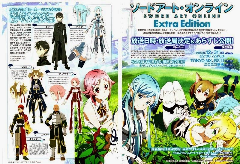 Download Sword Art Online: Extra Edition Subtitle Indonesia