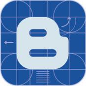 Blogger Blue Vector Logo