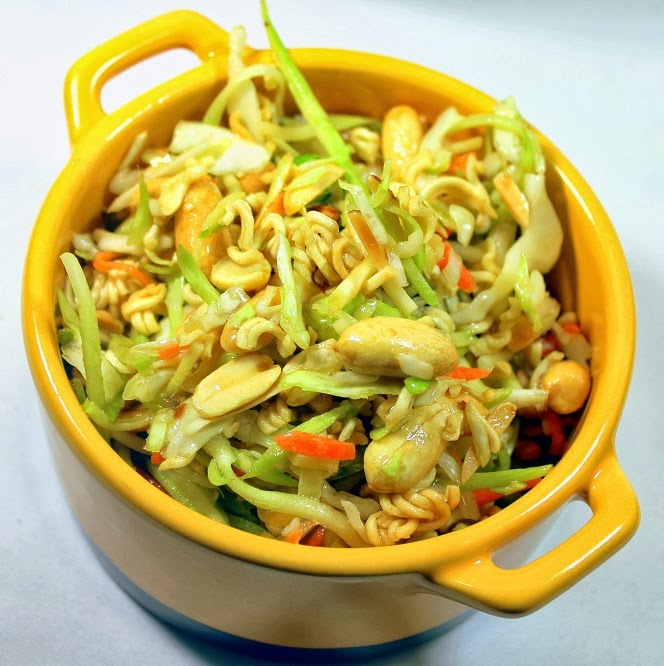 52 Ways to Cook: Asian Ramen Noodle Salad - FAST EASY DELICIOUS Crowd ...