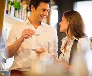 Café en pareja