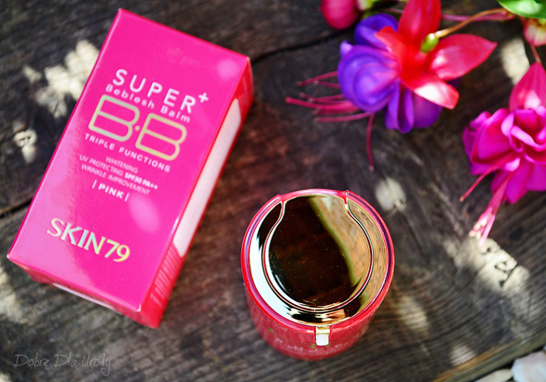 Hot Pink Super+ Beblesh Balm Triple Functions - Krem BB z filtrem SPF30 PA++