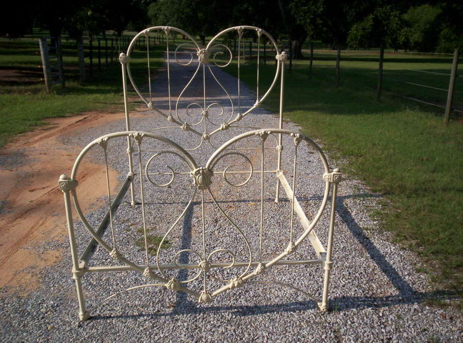 Twin bed frame for girls - Calling It Home Heart Shaped Stuff
