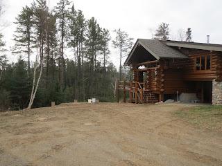 Ely Minnesota Lake home made of Log