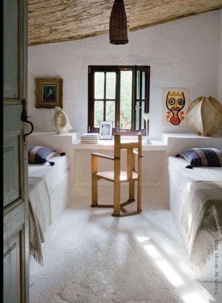 En mi espacio vital muebles recuperados y decoraci n vintage una casa para el fin de semana - Camas de obra ...