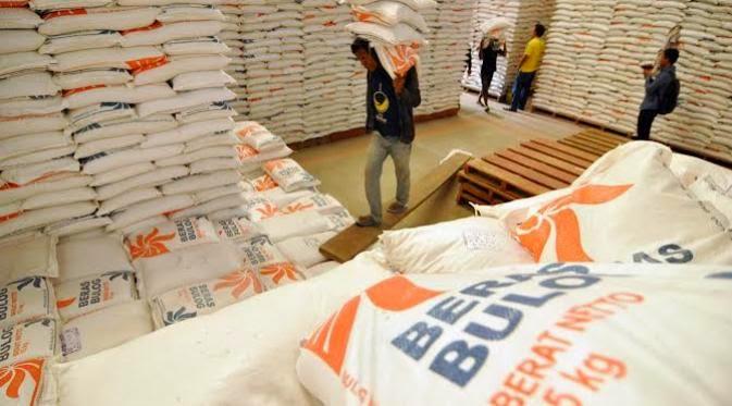 Kebanjiran Stock Beras Pada Indonesia