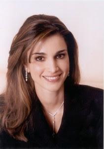Polska strona o Królowej Jordanii