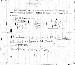 Lasciapassare Partigiano 1943-1945