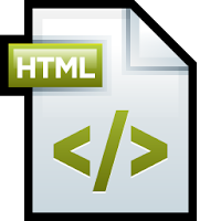 declare language html blogger template
