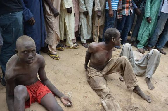 Image result for DSS arrests Boko Haram members in Lagos, Kogi