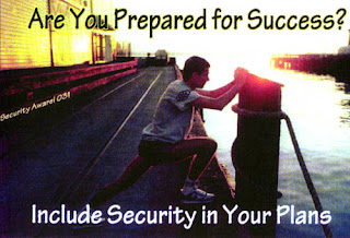 travel security poster
