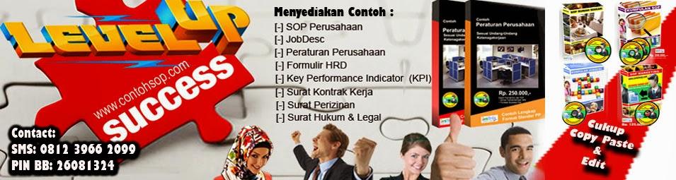 Kumpulan Contoh SOP Perusahaan