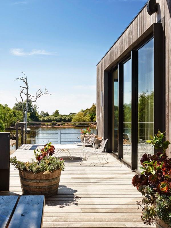 Luftig-leichtes Einrichten und Wohnen in Australien: Mid-Century Design mit modernen Designklassiker