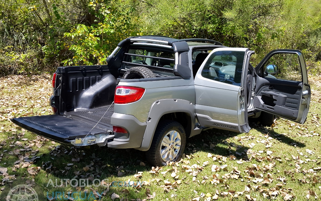 Prueba Fiat Strada Adventure Locker Cabina Doble 1 6