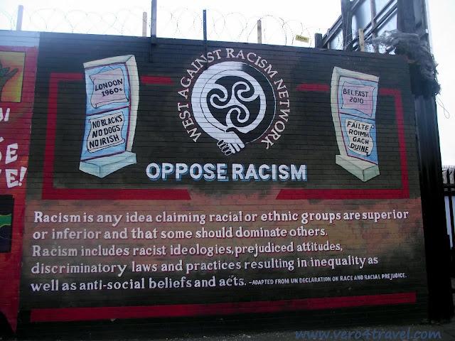 murales belfast contra racismo