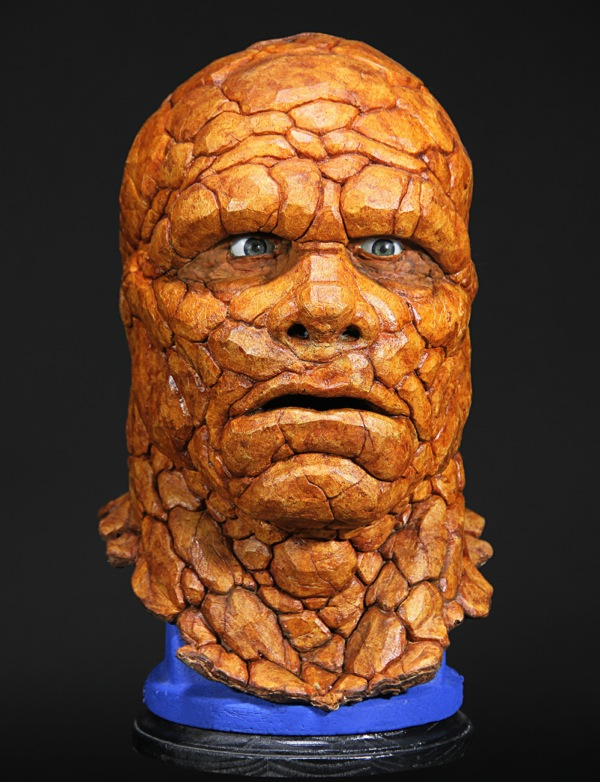 Fantastic Four Thing prosthetic head