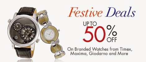 festive deal, 50% off on branded watches timex, maxima, amazon online shopping store, amazon.in
