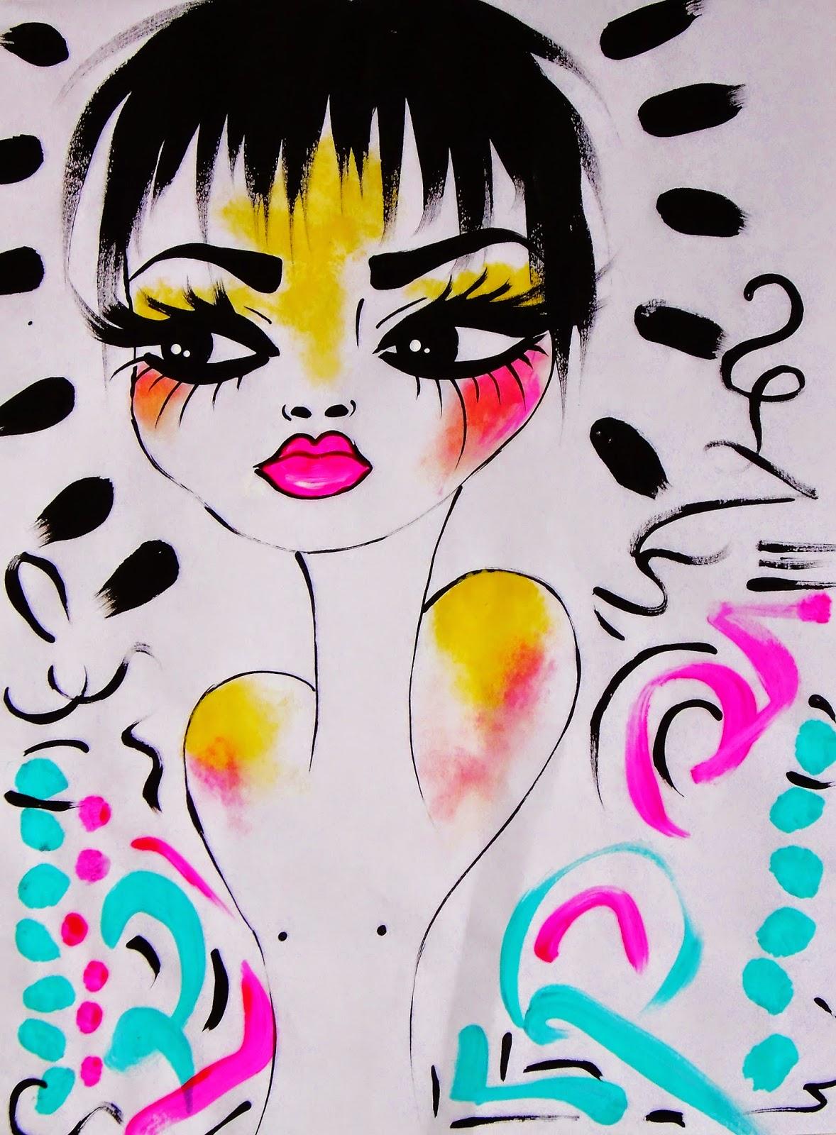 Art by Bebee Pino - Drawing/Painting by Bebee Pino