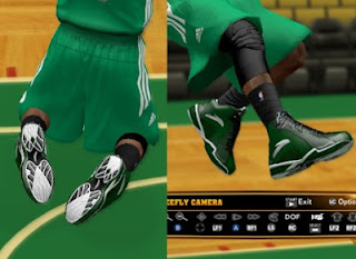 NBA 2K13 Kevin Garnett Anta KG 3 Shoes