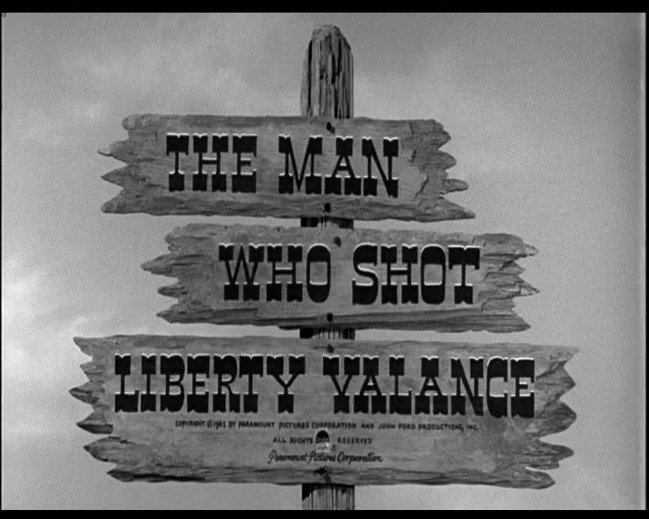 """Crítica de """"El Hombre que Mató a Liberty Valance"""" (John Wayne 7790ca7651a"""