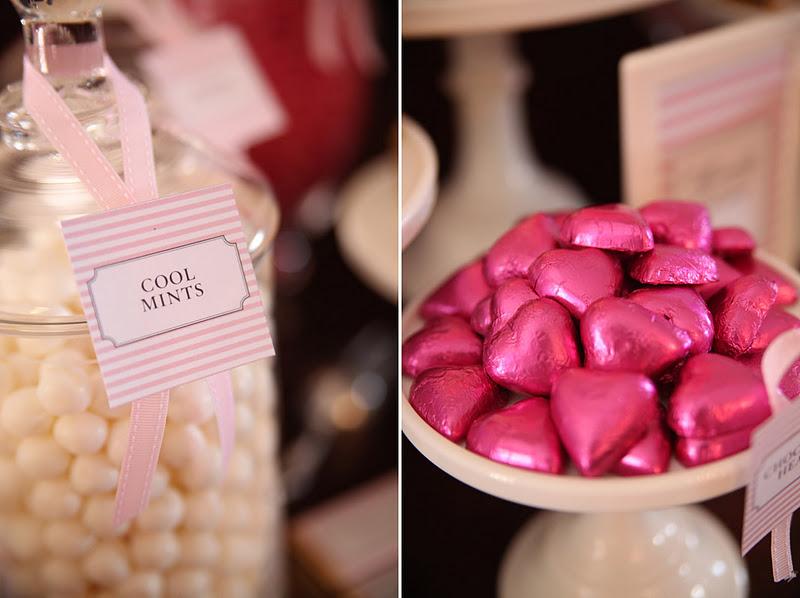 Elegant Pink and Grey Wedding