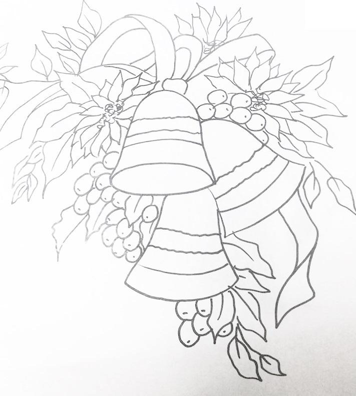 imagens sinos natal colorir - Sino para colorir Desenhos para Colorir