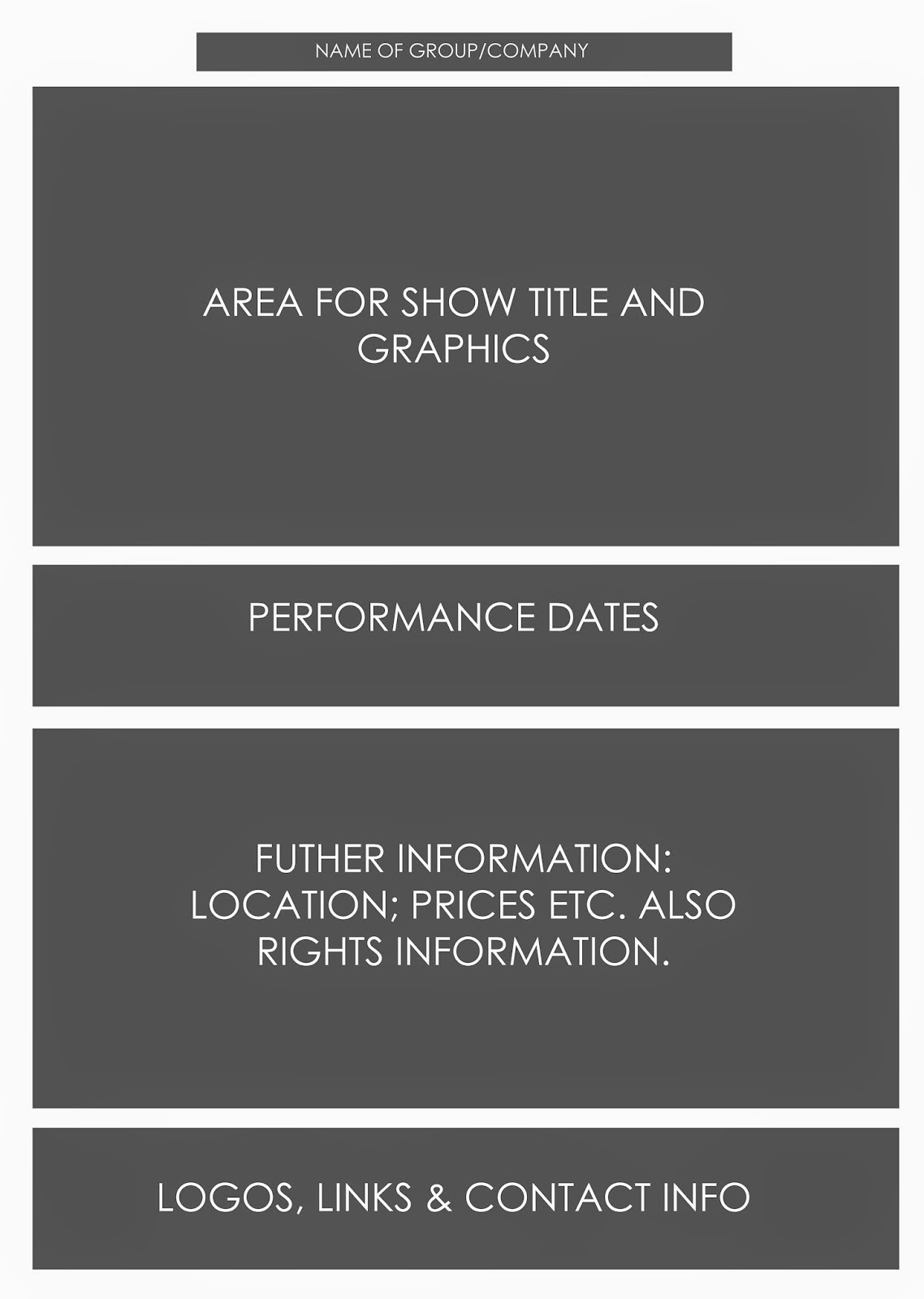 Poster design tips - Musical Theatre Poster Design Tips