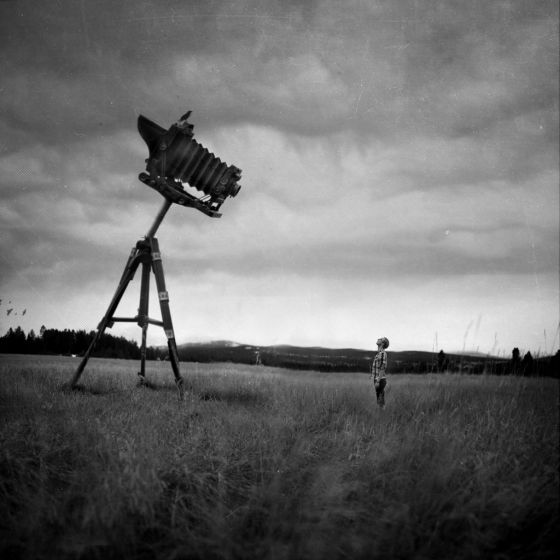 Joel Robinson fotografia e manipulação digital autorretratos surreal