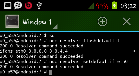 Cara Mengganti DNS Android Menggunakan Terminal Emulator