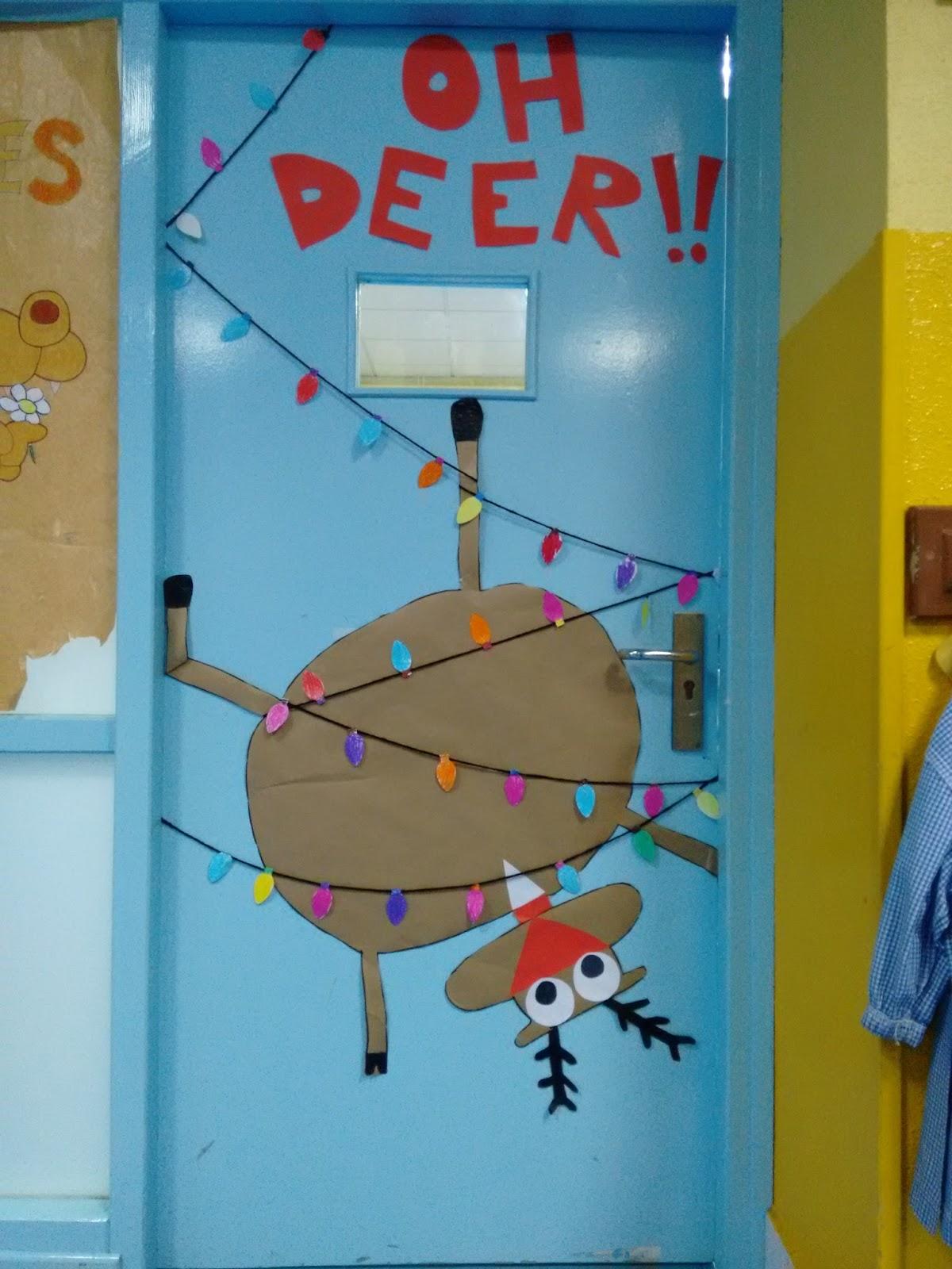 Manualidades del colegio el salvador puertas navide as 3 for Ideas decoracion navidad colegio