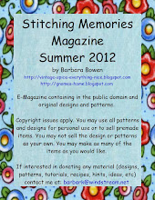 Stitching Memories E-Magazine Summer 2012