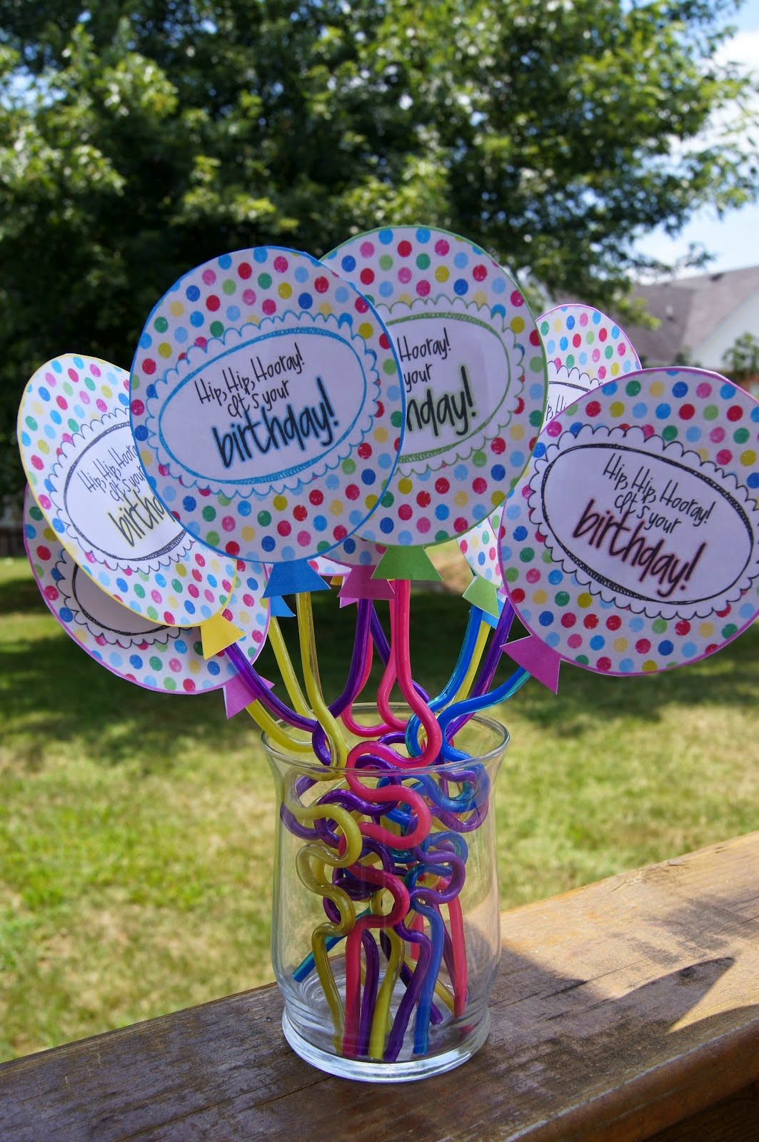 Printable Birthday Balloons ~ Digi preserves birthday balloon tags