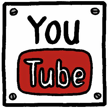 YouTube hand drawn sign logo