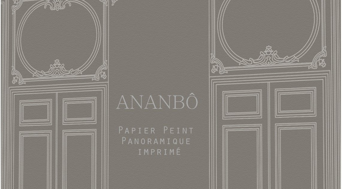 ananb papier peint panoramique imprim la collection boiseries sera en vente au mois de. Black Bedroom Furniture Sets. Home Design Ideas