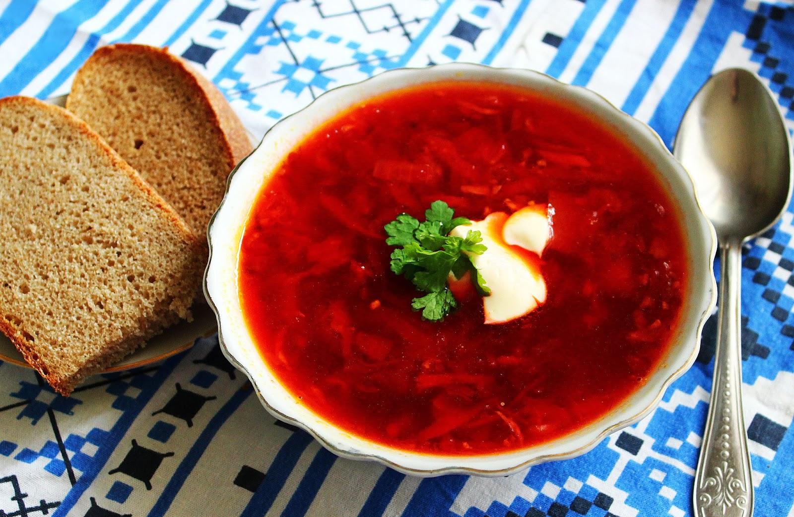 Борщ кавказский рецепт пошаговый