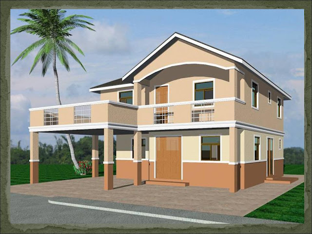 Vida dream home design of lb lapuz architects builders for Classic house design philippines