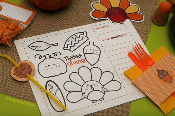 Make your own Thanksgiving menus