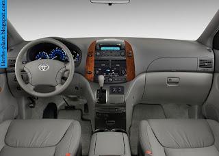 Toyota sienna car 2013 dashboard - صور تابلوه سيارة تويوتا سيينا 2013