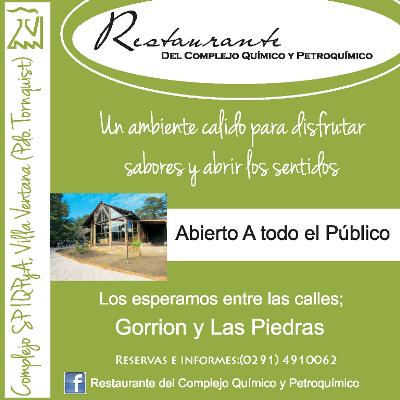 Restaurante del Complejo Químico y Petroquímico